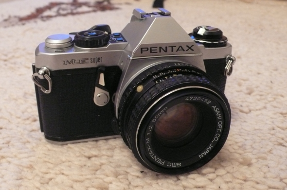 The newly aquired Pentax Me Super