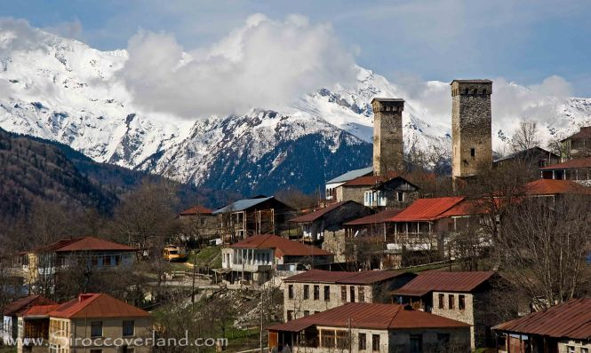 Svan Towers - High Caucasus, Georgia