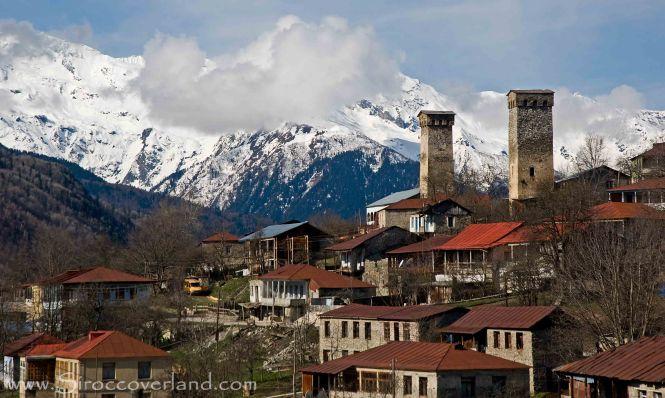 Svan Towers - High Caucasus, Georgia