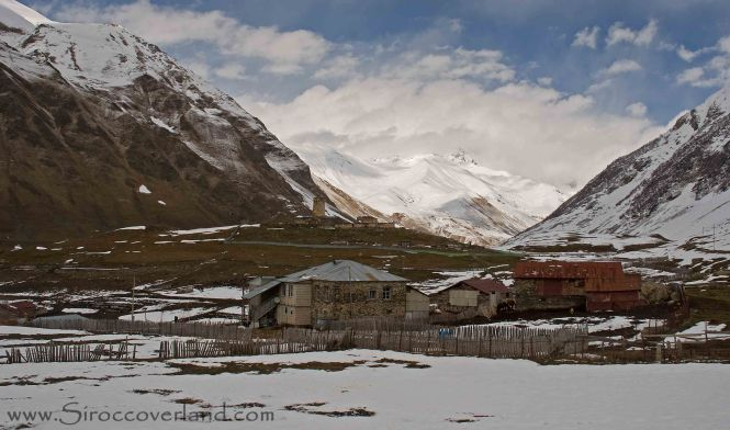 End of the road - Ushguli, High Caucasus, Ushguli