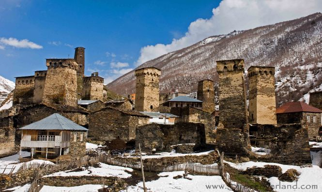 Svan Towers - Ushguli