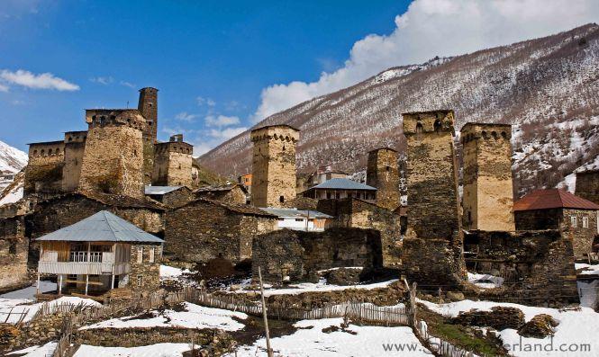 Svan Towers - Ushguli