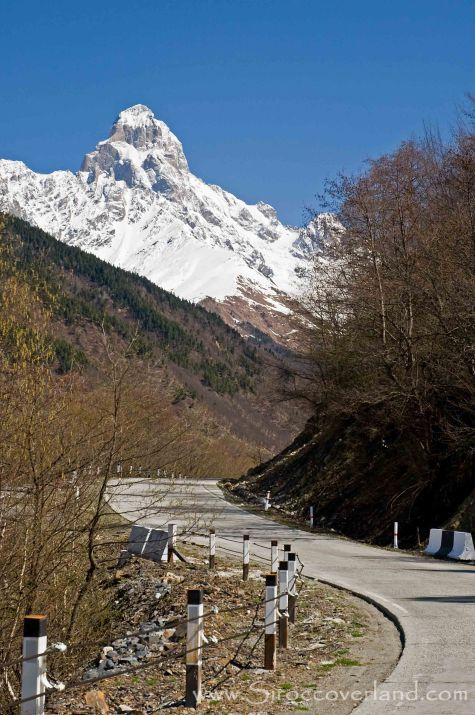 Mount Ushba - High Caucasus, Georgia