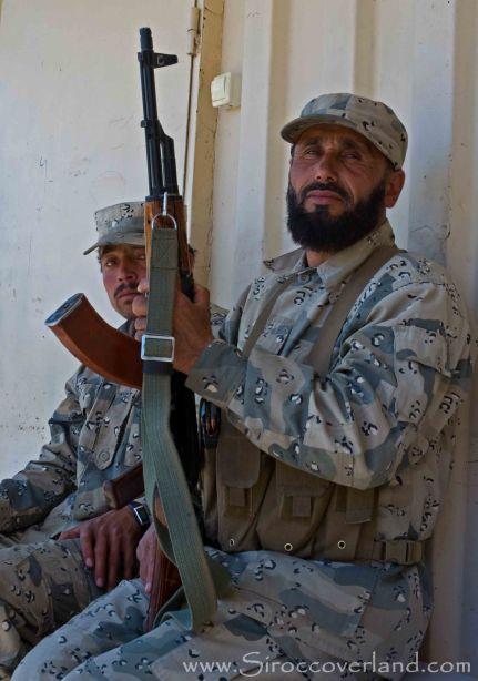 Afghan border guard