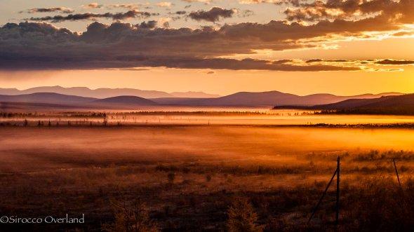 siberian sunset, siberia, russia, Taiga, 4x4, adventure, overland