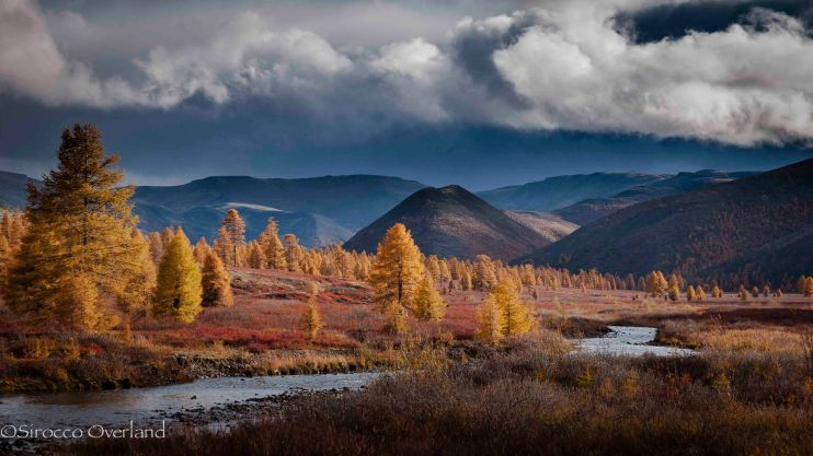 151W Gulag Landscape, SIberia - Russia