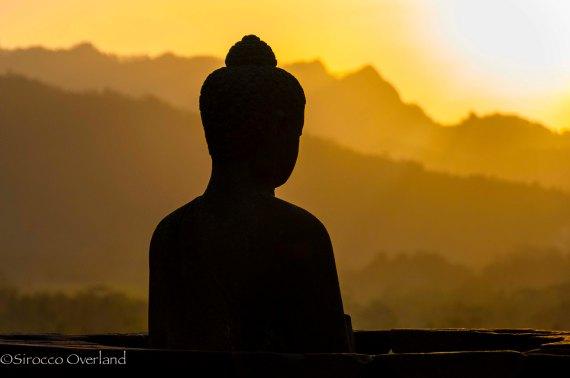 Budda, Borobudur - Java, Indo