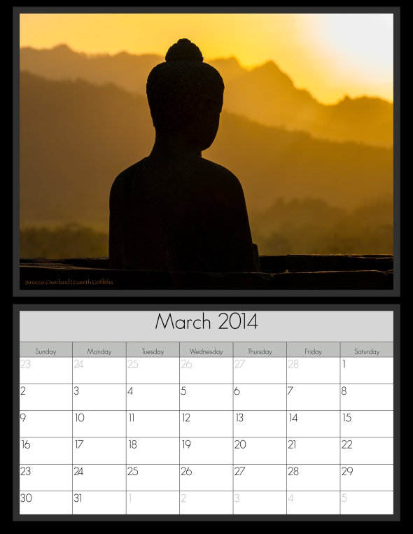 March 2014 Calender