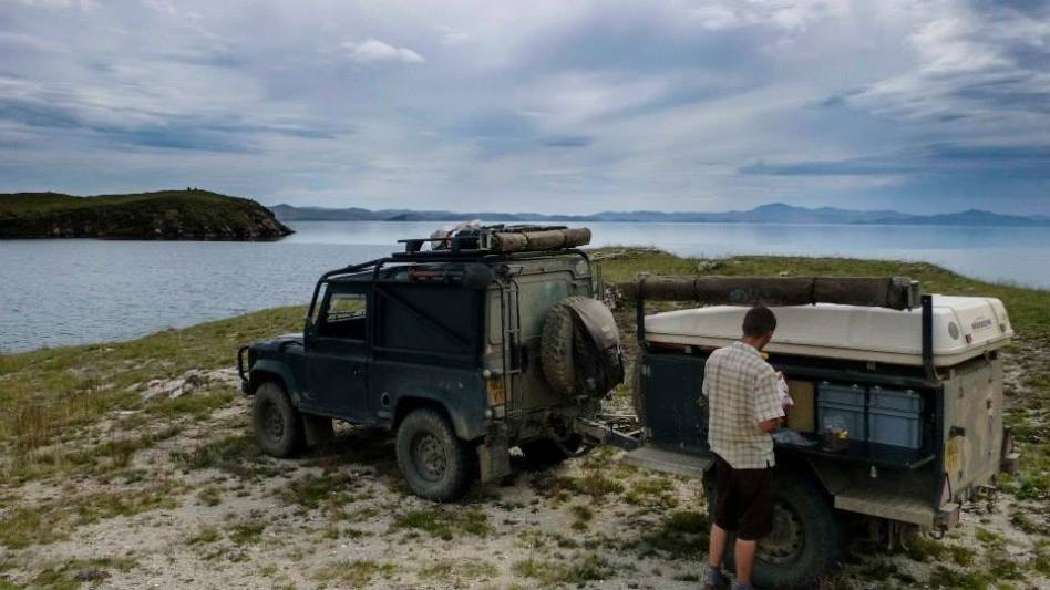 Russia, overland, camping, 4x4, land rover, defender 90