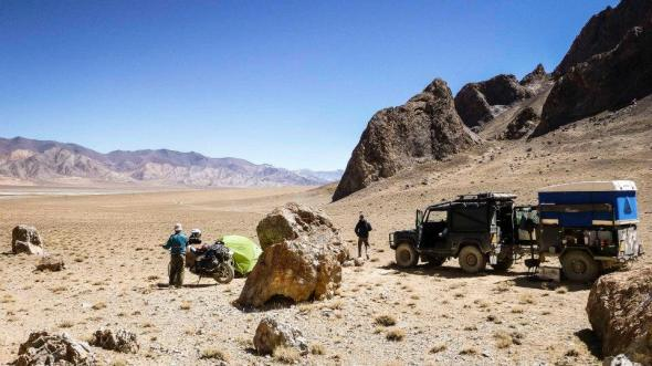 4000m up in the Pamir Mountains