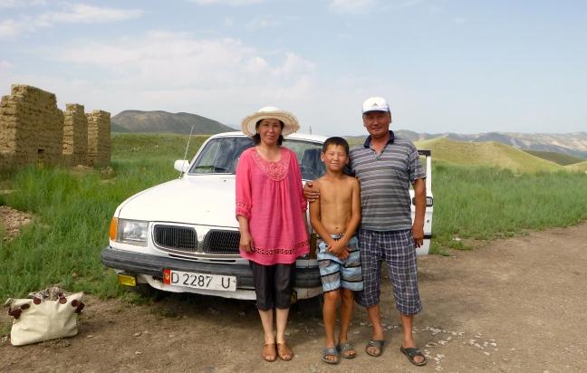 Kyrgyz family