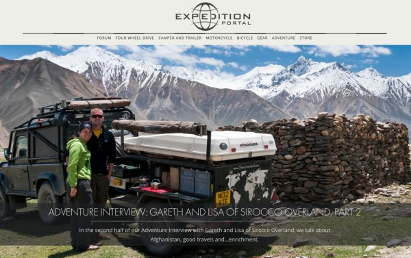 Expedition Portal, Article, Sirocco Overland Interview