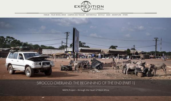 Mapa Project, West Africa, Expedition Portal