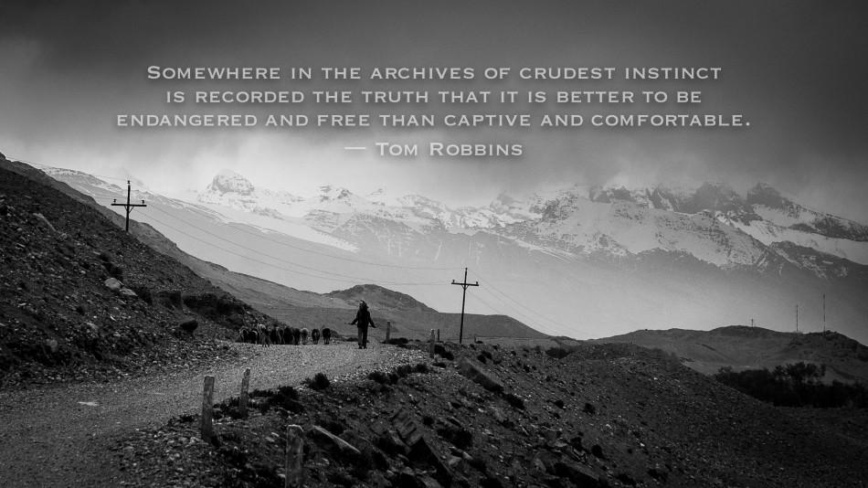 Quote, inspiration, travel, overland, Tajikistan, Pamirs, Pamir Highway, Mountains, Hindu Kush, Afghanistan, Shepherd, 4x4, B&W, photography