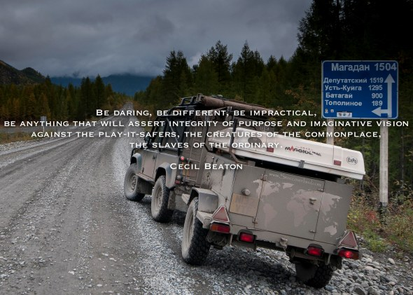 Road of Bones, Siberia, Quote, Russia, Far North East, Highway, Kolyma, Land Rover, Defender, 90, Adventure, Dirt Road, Overland