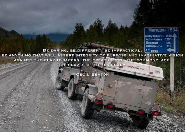 Road of Bones, Siberia, Quote, Russia, Far North East, Highway, Kolyma, Land Rover, Defender, 90, Adventure, Dirt Road, Overland