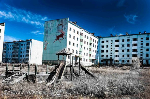 Kadykchan, Gohost Town, City, abandoned, russia, siberia, GULAG, mine, playgorund
