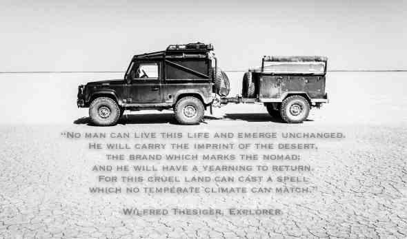 Aral Sea, Uzbekistan, Desert, Quote, Inspiration, Land Rover, Defender, 90, Expedition, Adventure