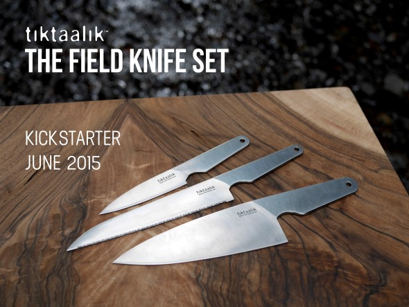 Tiktaalik Field Knife Set FB